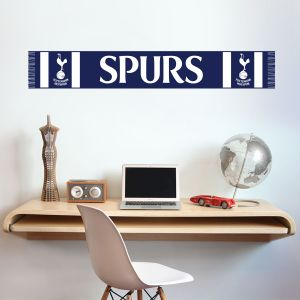 Tottenham Hotspur Football Club Scarf Wall Sticker Vinyl