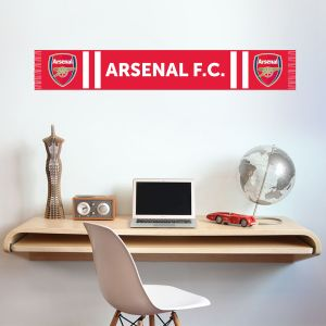 Arsenal Football Club Bar Scarf Wall Sticker Vinyl