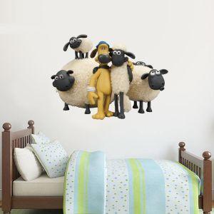 Shaun The Sheep - Shaun And Bitzer Wall Sticker