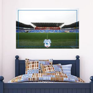 Cardiff City Football Club Stadium Mural Wall Sticker