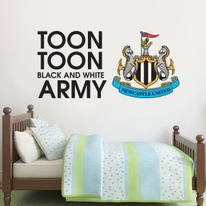 Newcastle United Football Club - Toon Army Song Wall Sticker Vinyl