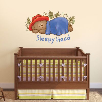 Baby Paddington Bear - Sleepy Head Wall Sticker
