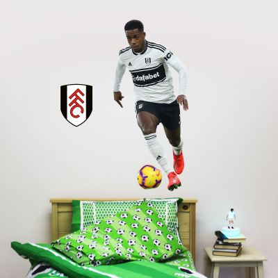 Fulham F.C. - Ryan Sessegnon Player Wall Sticker + Bonus Fulham Crest Decal
