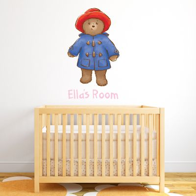 Baby Paddington Bear - Personalised Name Paddington 003