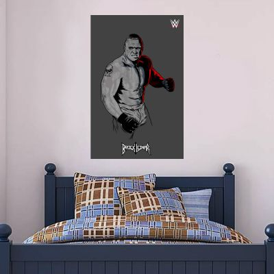WWE - Brock Lesnar Graphic Wall Sticker 2