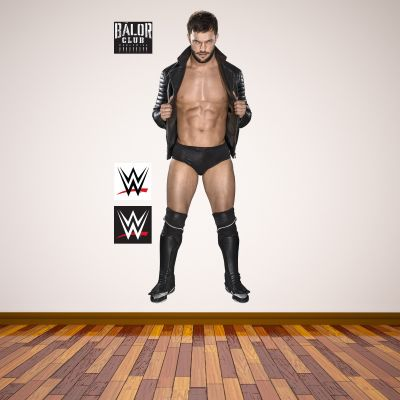 WWE - Finn Balor Wrestler Decal 2 + Bonus Wall Sticker Set