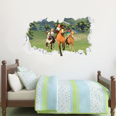 Spirit Riding Free - Group Broken Wall Sticker