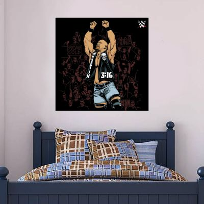WWE - Stone Cold Steve Austin Graphic Wall Sticker
