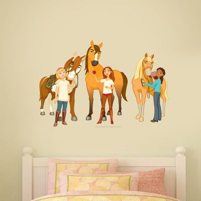 Spirit Riding Free - Group Wall Sticker