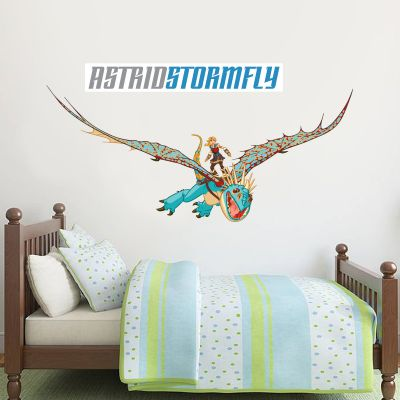 How To Train Your Dragon - Astrid & Stormfly Wall Sticker Set