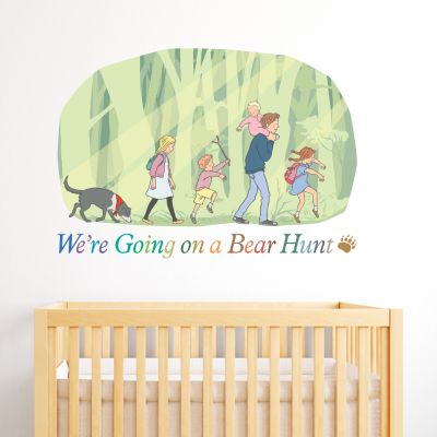 We're going on a Bear Hunt Family Wall Sticker