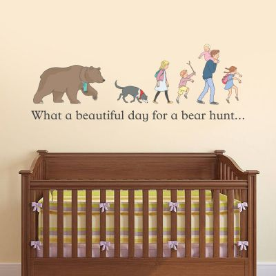 Beautiful Day Bear Hunt Family Wall Sticker
