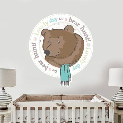 Bear Hunt 'Lovely day for a Bear Hunt' Wall Sticker