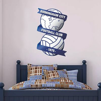 Birmingham City F.C. - Crest + Blues Wall Sticker Set