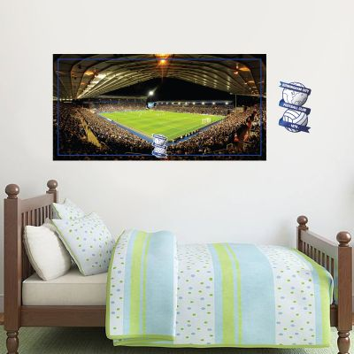 Birmingham City F.C. - St Andrew's Stadium + Blues Wall Sticker Set