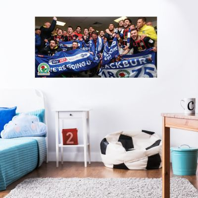 Blackburn Rovers F.C. - Promotion Celebrations (1) + Riversiders Wall Sticker Set