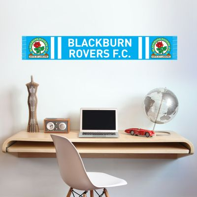 Blackburn Rovers Football Club Bar Scarf Wall Sticker