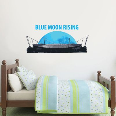 Manchester City Football Club - Blue Moon Rising Wall Sticker