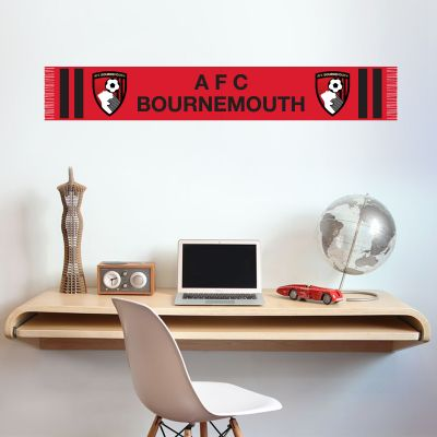 A.F.C Bournemouth Bar Scarf Wall Sticker