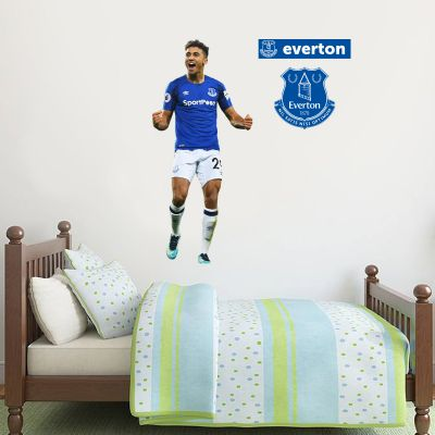 Everton FC - Dominic Calvert-Lewin Player Decal + Toffees Gift Wall Sticker Set