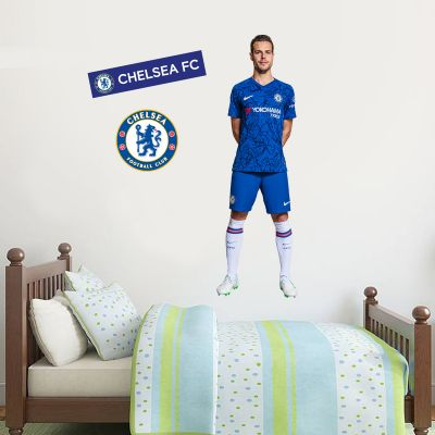 Chelsea FC - Azpilicueta Player Decal + CFC Wall Sticker Set