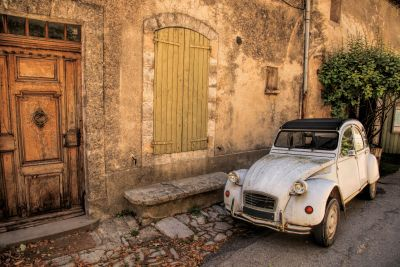 Classic French Car Wall Mural