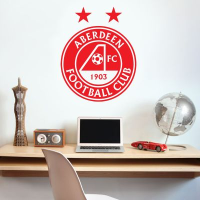 Aberdeen Football Club - Crest Wall Sticker