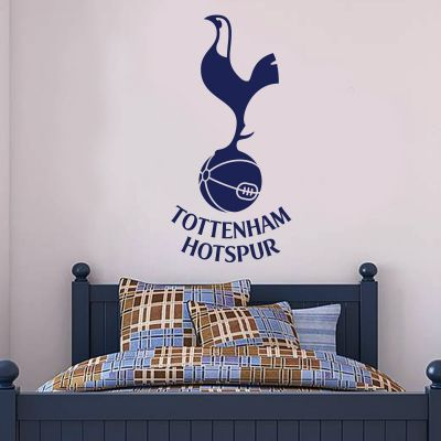 Tottenham Hotspur Football Club Crest & Spurs Wall Sticker Set Vinyl