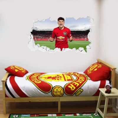 Manchester United F.C. - Daniel James Broken Wall Sticker