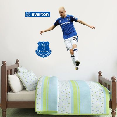Everton FC - Davy Klaassen Player Decal + Toffees Gift Wall Sticker Set