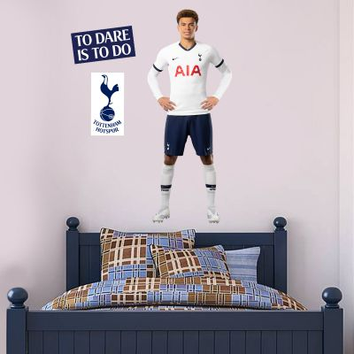 Tottenham Hotspur FC - Dele Alli Player Wall Mural + Spurs Wall Sticker Set