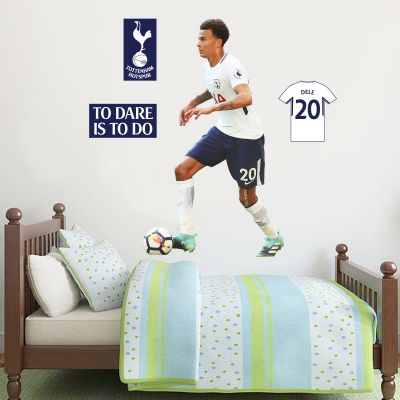 Tottenham Hotspur FC - Dele Alli Player Decal + Spurs Wall Sticker Set