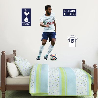 Tottenham Hotspur FC - Mousa Dembélé Player Decal + Spurs Wall Sticker Set