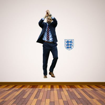 Gareth Southgate Manager Wall Sticker + Bonus England Stickers