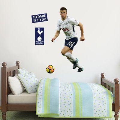 Tottenham Hotspur FC - Eric Dier Wall Mural + Spurs Wall Sticker Set