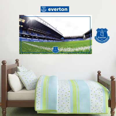Everton Football Club - Goodison Park Stadium + Toffees Wall Sticker Set