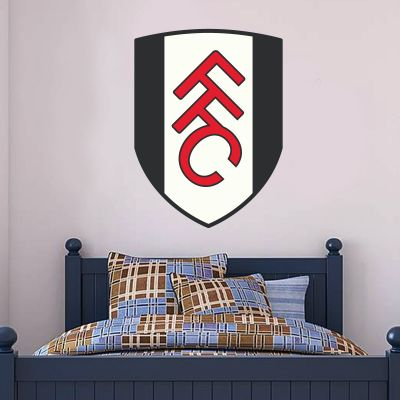 Fulham Football Club Crest Wall Sticker
