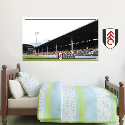 Fulham Football Club Stadium Wall Mural & Crest Wall Sticker