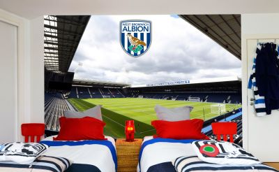West Bromwich Albion FC - The Hawthorns Stadium Full Wall Mural