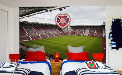 Heart of Midlothian F.C. - Tynecastle Stadium Full Wall Mural