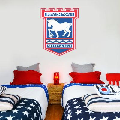 Ipswich Town Football Club Crest Wall Sticker