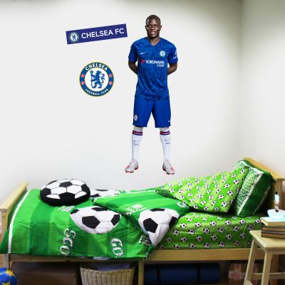 Chelsea FC - Kante Player Decal + CFC Wall Sticker Set