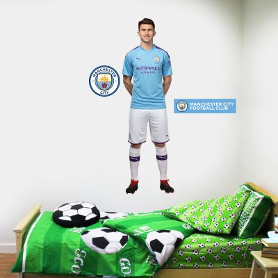 Manchester City FC - Aymeric Laporte 2019 Player Decal + Wall Sticker Set