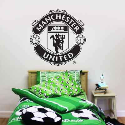 Manchester United F.C. - One Colour Crest Wall Sticker