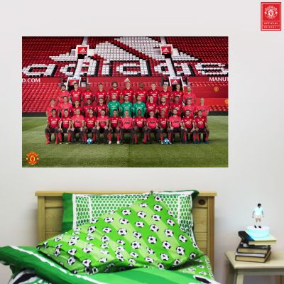 Manchester United F.C. - Squad Photo Wall Sticker