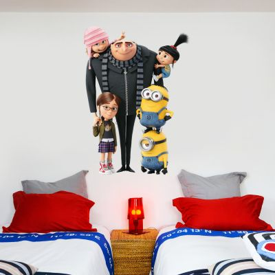 Despicable Me - Gru & Family Wall Sticker