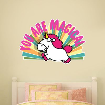 Despicable Me - You Are Magical Unicorn Wall Sticker