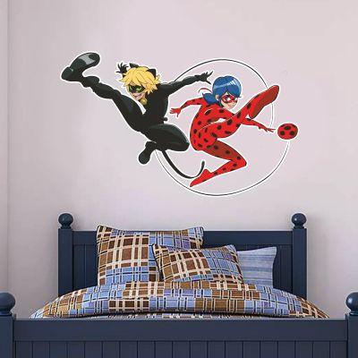 Miraculous - Ladybug and Cat Noir Wall Sticker MIR02