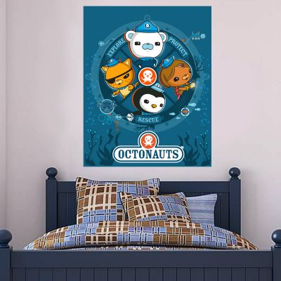 Octonauts 4 Characters Wall Sticker Mural
