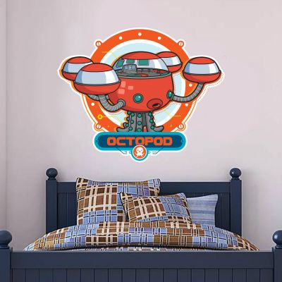 Octonauts Octopod Cut Out Wall Sticker Mural